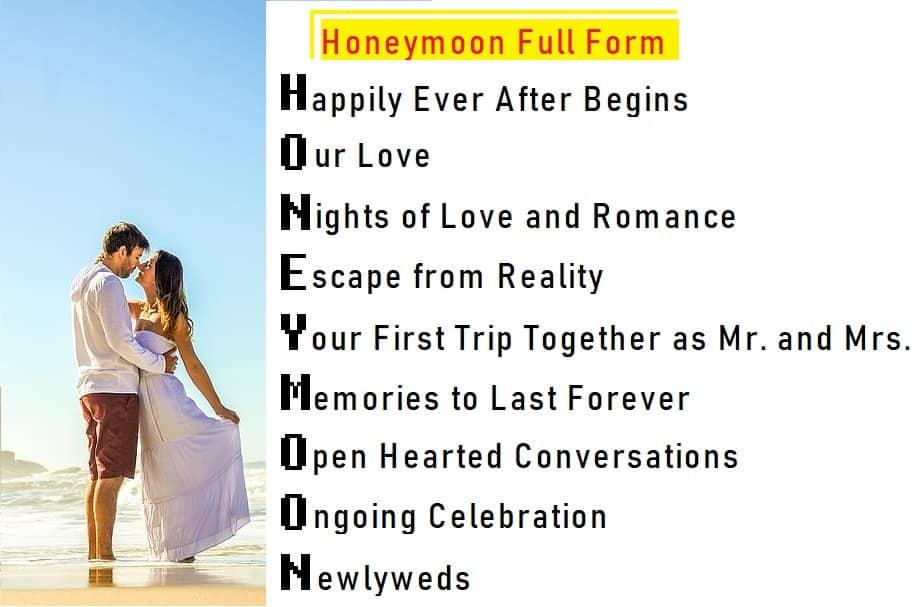 Honeymoon Full Form
