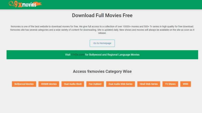 9xmovies 9xfilms 2021 2022 Hollywood Movie Hindi Dubbed